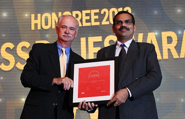 The Resilient 100: K V S S Rajeswara Rao, GM - IT at Visakhapatnam Steel Plant, RINL receives the CIO100 Award for 2012