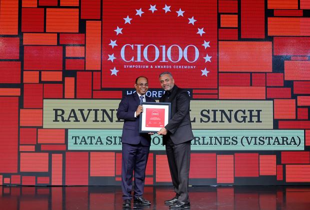 The Digital Architect: Ravinder Pal Singh, CIO & senior VP– Innovation, Tata Singapore Sirlines (Vistara), receives the CIO100 award for 2018