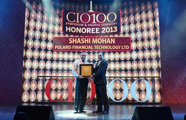 The Astute 100: Shashi Mohan, Executive VP, CIO and CTO of Polaris Financial Technology receives the CIO100 Award for 2013