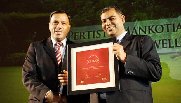 The Agile 100: Pertisth Mankotia, Head - IT of Sheela Foam (Sleepwell) receives the CIO100 Award for 2010
