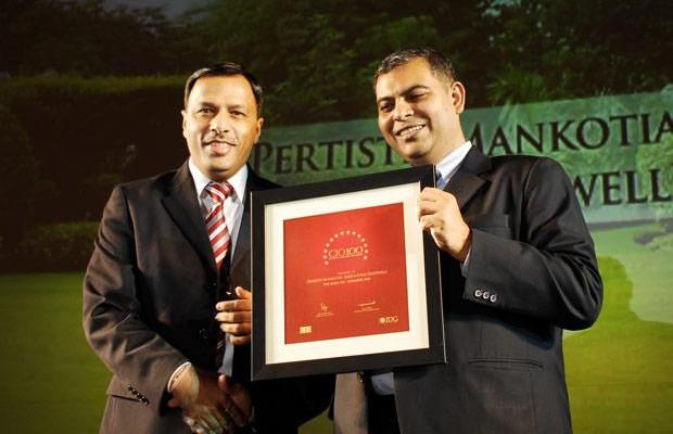 The Agile 100: Pertisth Mankotia, Head - IT of Sheela Foam (Sleepwell) receives the CIO100 Award for 2010