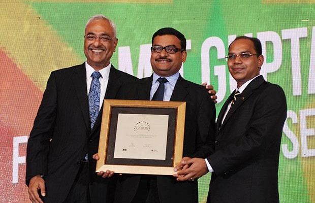 Super League: Amit Gupta, VP-IT of Fidelity Business Services India receives the CIO100 Special Award for 2012