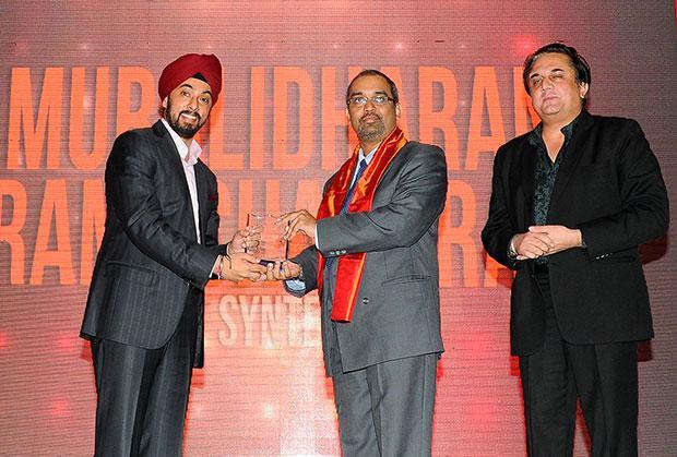 Infrastructure: Muralidharan Ramachandran, CIO, Syntel International receives the CIO100 Special Award for 2012 in association with Tulip Telecom