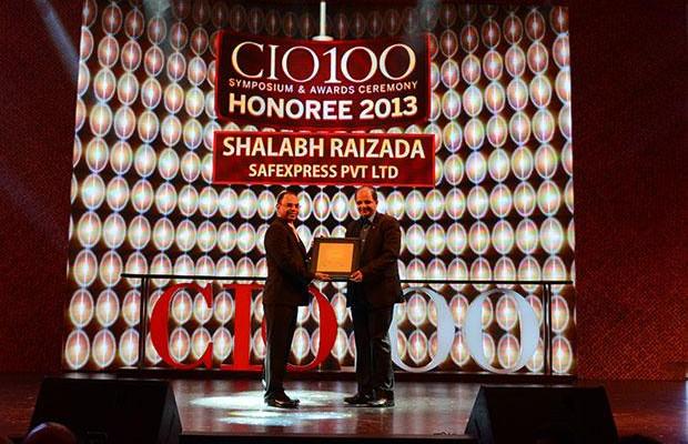 The Astute 100: Shalabh Raizada, VP - IT of Safexpress receives the CIO100 Award for 2013