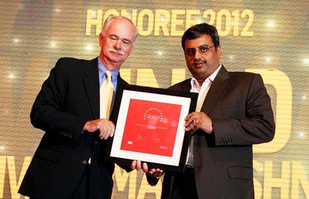 The Resilient 100: Vinod Sivarama Krishnan, Senior Vice President & CIO of Walmart India receives the CIO100 Award for 2012