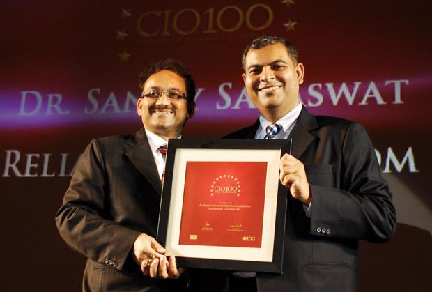 The Agile 100: Sanjay Saraswat, CIO of Reliance Globalcom receives the CIO100 Award for 2010