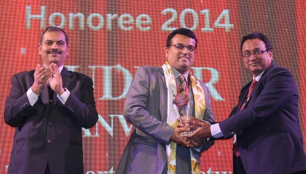 Innovation Architect: Sudhir Kanvinde, CIO at IL&FS Transportation Networks receives the CIO100 Special Award for 2014 constituted in association with Wipro