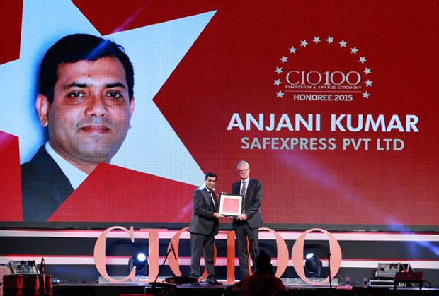 The Versatile 100: Anjani Kumar, CIO, Safexpress receives the CIO100 Award for 2015