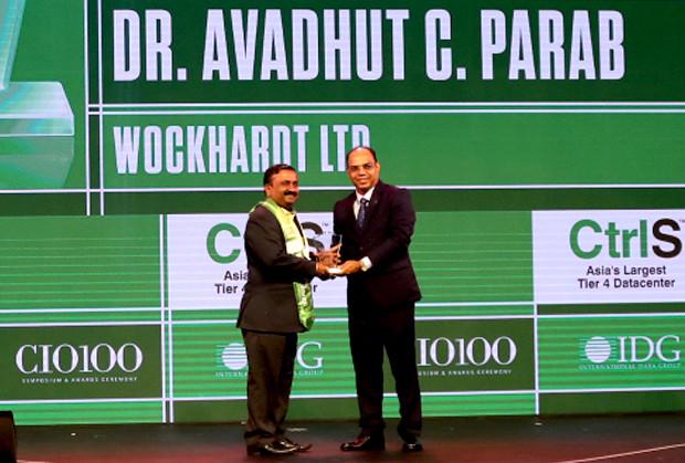 Business Transformer: Avadhut Parab, CIO – Global, Wockhardt receives the CIO100 Special Award for 2019
