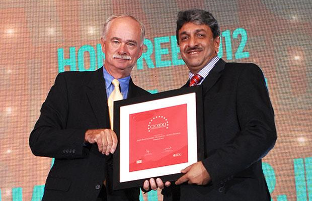 The Resilient 100: Arijit Bhattacharjee, GM-IT, ITC - Hotel Division receives CIO100 Award for 2012