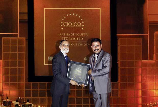 The Ingenious 100: Partha Sengupta, CIO, ITC recieves CIO100 Award for 2009