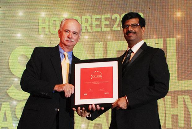 The Resilient 100: Suneel Vasant Aradhye, CTO of Essar Steel India receives the CIO100 Award for 2012