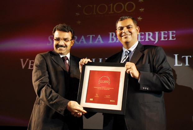 The Agile 100: Subrata Banerjee, VP - IT of Vedanta Aluminium receives the CIO100 Award for 2010