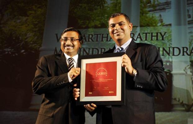 The Agile 100: V S Parthasarathy, CIO of Mahindra & Mahindra receives the CIO100 Award for 2010