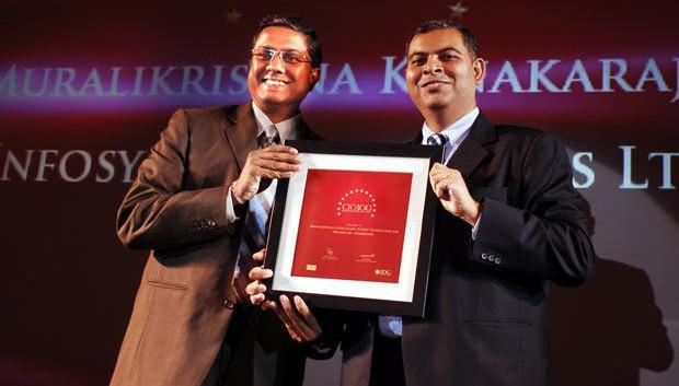 The Agile 100: Muralikrishna K, Sr. VP Group Head-Computer, Infosys receives CIO100 Award for 2010