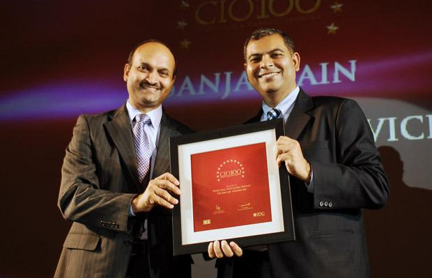 The Agile 100: Sanjay Jain, Chief Strategy Officer of WNS Global Services receives the CIO100 Award for 2010