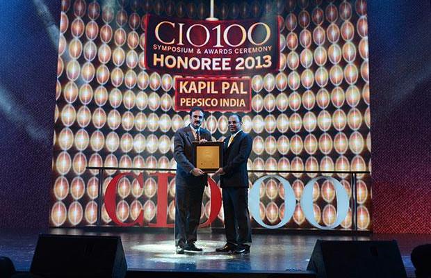 The Astute 100: Kapil Pal, Head IT of Pepsico India receives the CIO100 Award for 2013