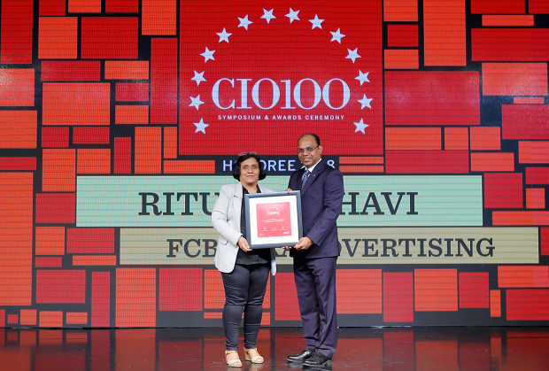 The Digital Architect: Ritu Madbhavi, CIO, FCB ULKA Advertising, receives the CIO100 award for 2018