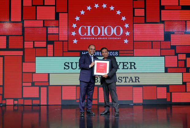 The Digital Architect: Suresh Iyer, CIO, Blue Star, receives the CIO100 award for 2018