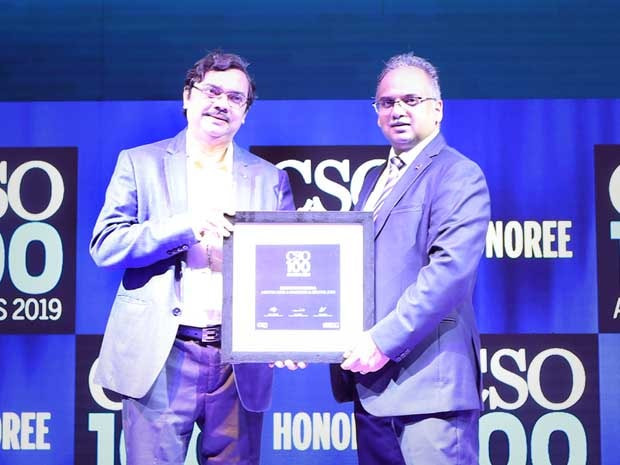 Debojit Maitra, CISO, Aditya Birla Fashion and Retail receives CSO100 Award for 2019