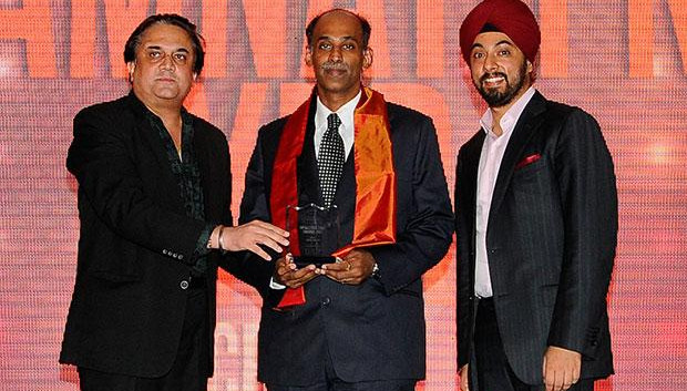Infrastructure: Ramnath Iyer, CIO of CRISIL receives the CIO100 Special Award for 2012 in association with Tulip Telecom