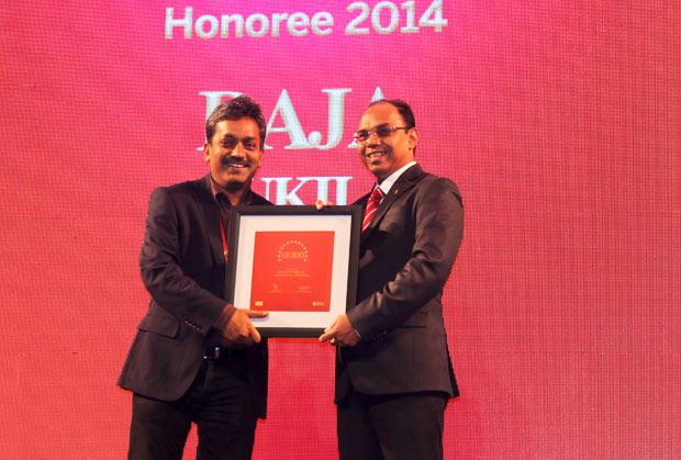 The Dynamic 100: Raja Ukil, CIO at Wipro receives the CIO100 Award for 2014
