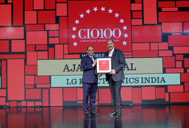 The Digital Architect: Ajay Rambal, Head-IT at LG Electronics India receives the CIO100 Award for 2018
