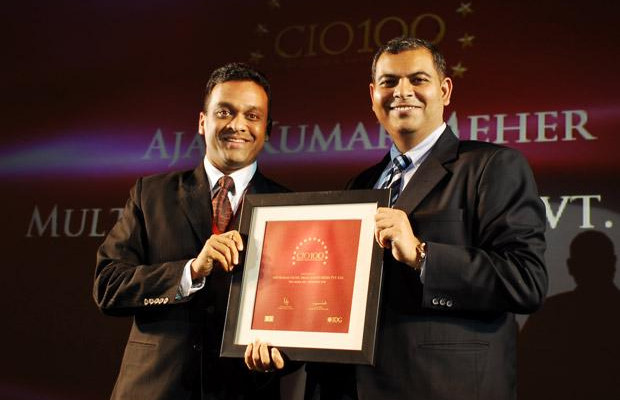 The Agile 100: Ajay Kumar Meher, VP - IT & New Media of Sony Entertainment Television India receives the CIO100 Award for 2010