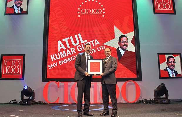 The Ingenious 100: Atul Kumar, GM - IT of Syndicate Bank receives the CIO100 Award for 2009 receives the CIO100 Award for 2009