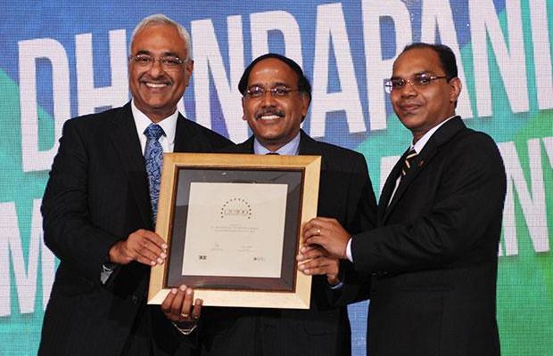 Super League: T G Dhandapani, CIO of TVS Motor Company receives the CIO100 Special Award for 2012