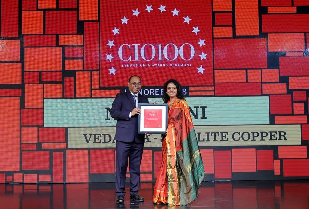 The Digital Architect: Neha Kini, Head– IT, Vedanta - Sterlite Copper, receives the CIO100 award for 2018