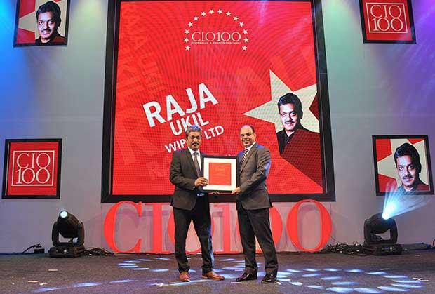 The Transformative 100: Raja Ukil, CIO at Wipro receives the CIO100 Award for 2016