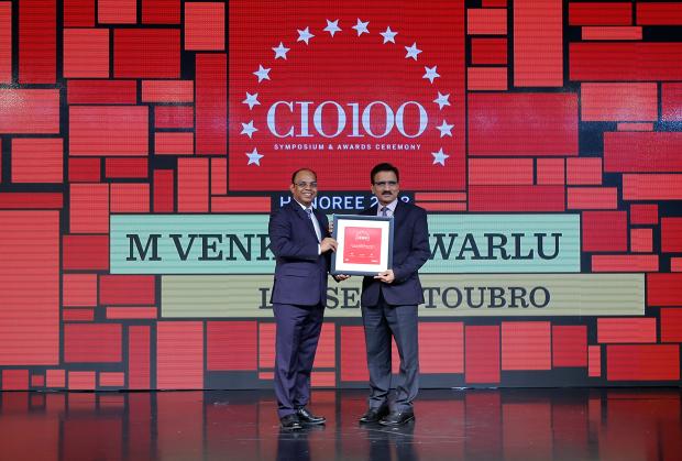 The Digital Architect: M Venkateshwarlu, Joint GM, Corp–IT at Larsen & Toubro receives the CIO100 Award for 2018
