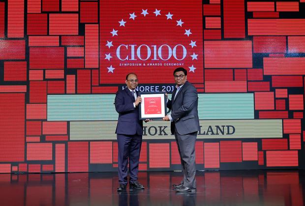 The Digital Architect: Vinod G, Head- Digital, Ashok Leyland, receives the CIO100 award for 2018