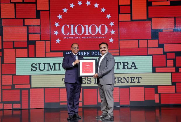 The Digital Architect: Sumit Malhotra, VP - IT, Times Internet, receives the CIO100 award for 2018