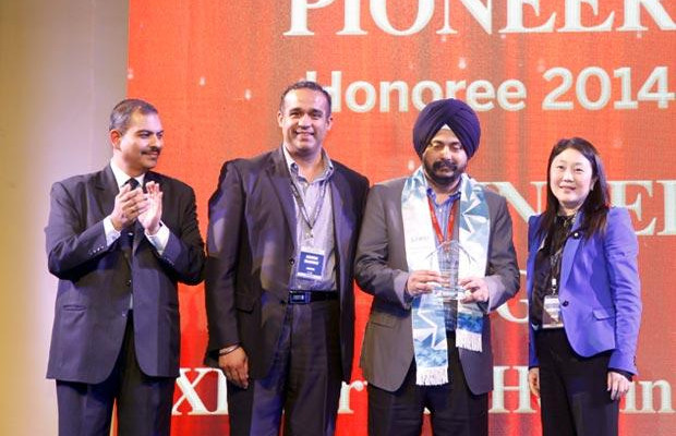 Networking Pioneer: Baljinder Singh, Global Head IT, EXL Services Holding receives the CIO100 Special Award for 2014 constituted in association with Juniper Networks