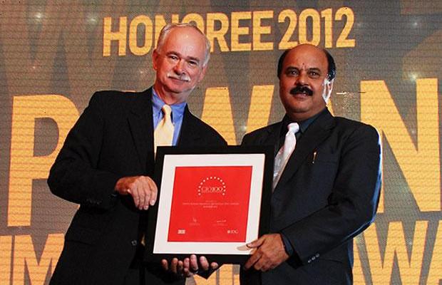 The Resilient 100: Pawan Kumar Nijhawan, VP & Head-IT of Hindustan Zinc receives the CIO100 Award for 2012