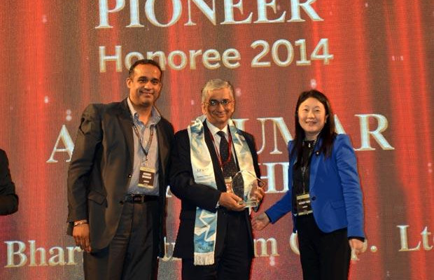 Networking Pioneer: Anil Kumar Kaushik, GM-Infrastructure and Services, Bharat Petroleum (BPCL) receives the CIO100 Special Award for 2014 in association with Juniper Networks.