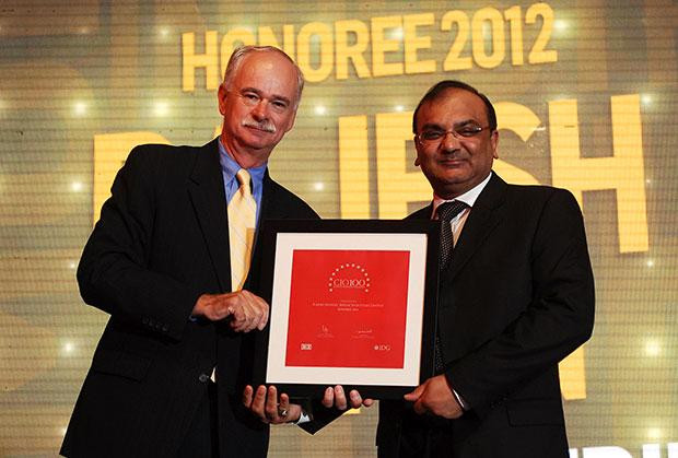 The Resilient 100: Rajesh Mohan, Joint President-IT, Binani Industries receives CIO100 Award for 2012