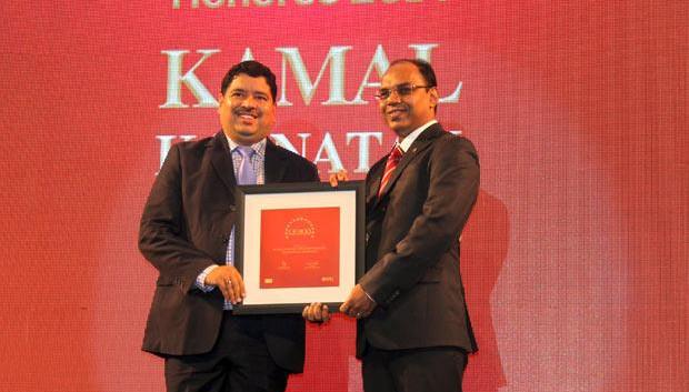 The Dynamic 100: Kamal Karnatak, Senior VP and Group CIO of R J Corporation receives the CIO100 Award for 2014