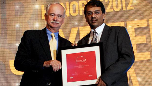 The Resilient 100: Joydeep Dutta, CTO at ICICI Securities receives the CIO100 Award for 2012