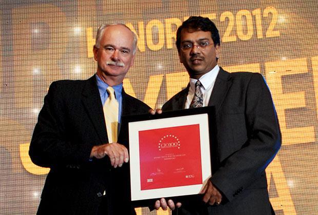 The Resilient 100: Joydeep Dutta, CTO at ICICI Securities receives the CIO100 Award for 2012