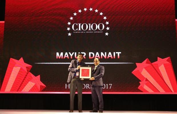 The Digital Innovators: Mayur Danait, CIO, Lupin receives the CIO100 Award for 2017