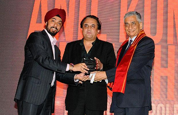 Infrastructure: Anil Kumar Kaushik, GM-Infrastructure and Services, Bharat Petroleum (BPCL) receives the CIO100 Special Award for 2012 in association with Tulip Telecom