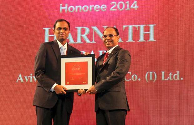 The Dynamic 100: Harnath Babu, CIO of Aviva Life Insurance Company receives the CIO100 Award for 2014