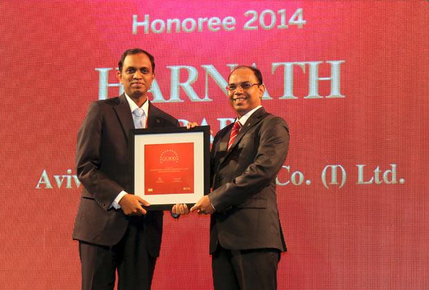 The Dynamic 100: Harnath Babu, CIO of Aviva Life Insurance Company receives the CIO100 Award for 2014