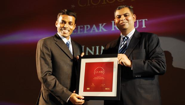 The Agile 100: Deepak Rout, Head - Information Security of Uninor India receives the CIO100 Award for 2010