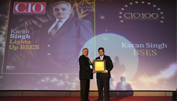 The Creative 100: Karanbir Singh, Vice President, Reliance Infrastructure receives the CIO100 Award for 2011
