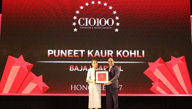 The Digital Innovators: Puneet Kaur Kohli, Group Executive VP-IT Operations and Technologies of Bajaj Capital receives the CIO100 Award for 2017