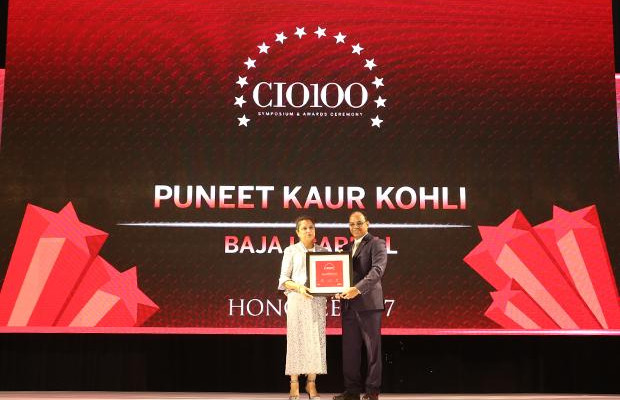 The Digital Innovators: Puneet Kaur Kohli, Group Executive VP-IT Operations and Technologies of Bajaj Capital receives the CIO100 Award for 2017